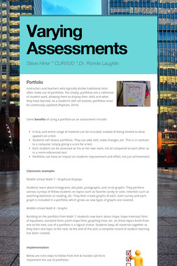 Varying Assessments