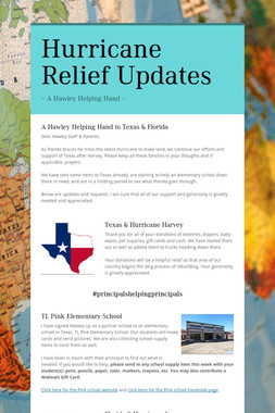 Hurricane Relief Updates