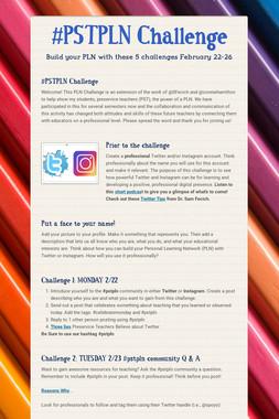 #PSTPLN  Challenge