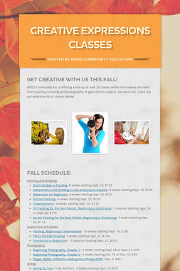 Creative Expressions Classes