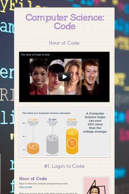 Computer Science: Code