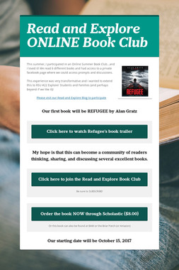 Read and Explore ONLINE Book Club