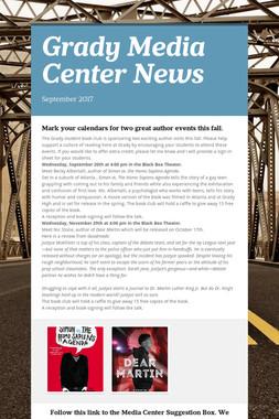 Grady Media Center News