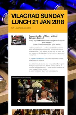 VILAGRAD SUNDAY LUNCH 21 JAN 2018