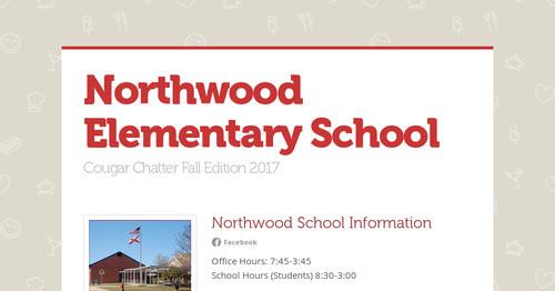 Northwood Elementary School | Smore Newsletters