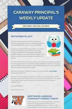 Caraway Principal's Weekly Update