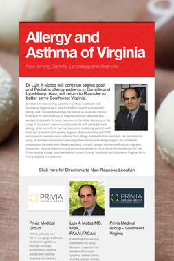 Allergy and Asthma of Virginia