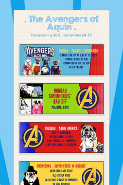 . The Avengers of Aquin .