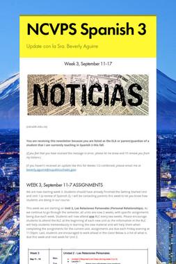 NCVPS Spanish 3