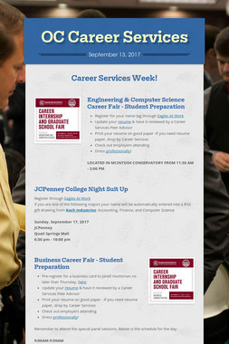 OC Career Services