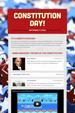 Constitution Day!