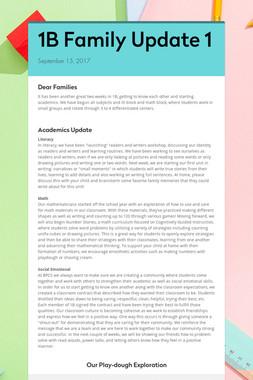 1B Family Update 1