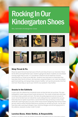 Rocking In Our Kindergarten Shoes