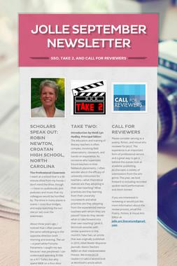 JoLLE September Newsletter