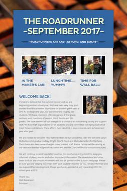 The Roadrunner -September 2017-