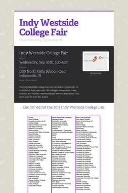 Indy Westside College Fair