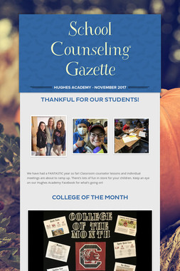 School Counseling Gazette
