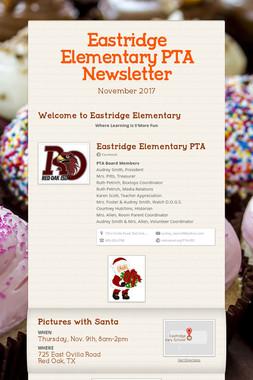Eastridge Elementary PTA Newsletter