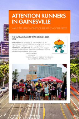 ATTENTION RUNNERS IN GAINESVILLE