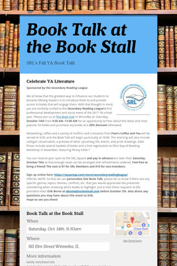 Book Talk at the Book Stall