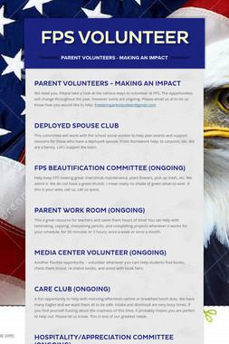 FPS Volunteer