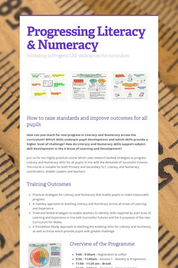 Progressing Literacy & Numeracy
