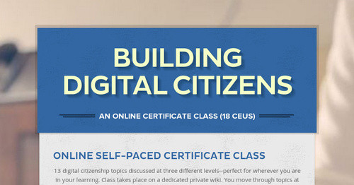 Building Digital Citizens | Smore Newsletters