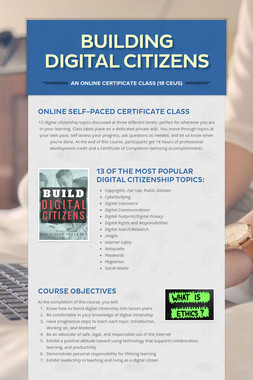 Building Digital Citizens