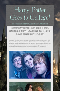 Harry Potter Goes to College!