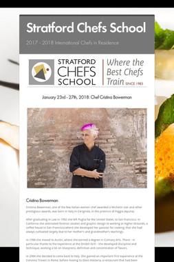 Stratford Chefs School