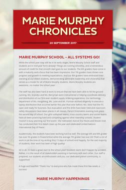 Marie Murphy Chronicles