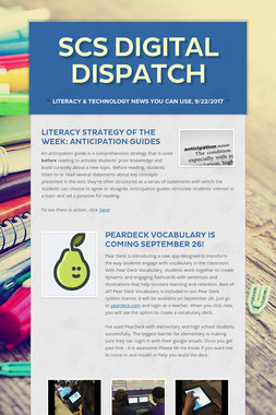 SCS Digital Dispatch