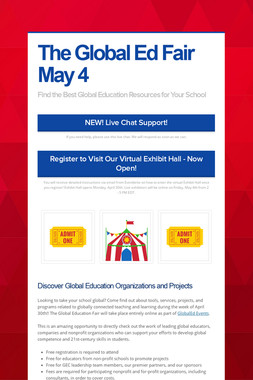 The Global Ed Fair May 4