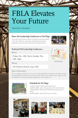 FBLA Elevates Your Future