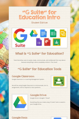 """""""G Suite"""" for Education Intro"""