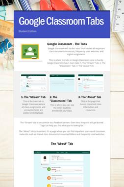 Google Classroom Tabs