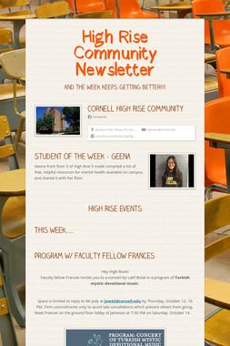High Rise Community Newsletter