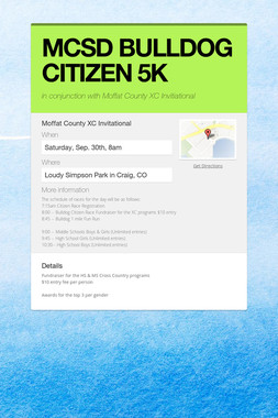 MCSD BULLDOG CITIZEN 5K