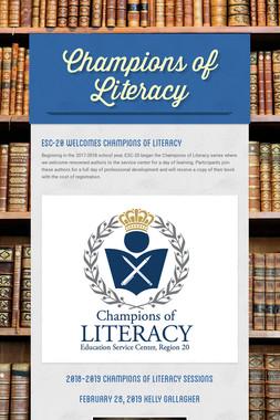 Champions of Literacy