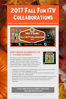 2017 Fall Fun ITV Collaborations