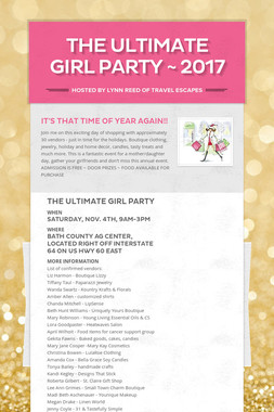 THE ULTIMATE GIRL PARTY ~ 2017