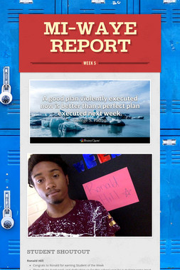MI-WAYE REPORT