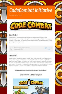 CodeCombat Initiative