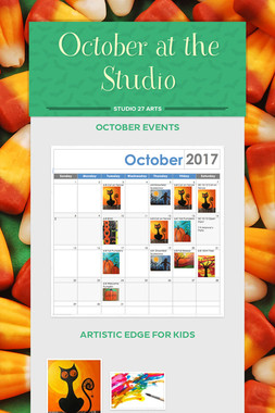 October at the Studio