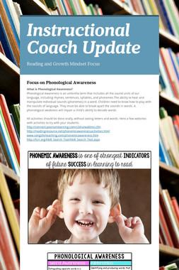 Instructional Coach Update