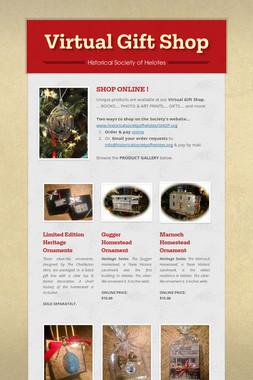 Virtual Gift Shop
