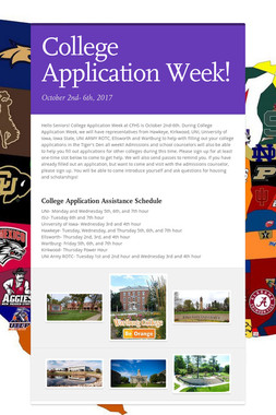 College Application Week!