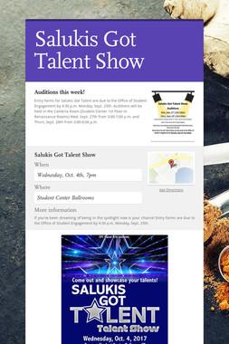 Salukis Got Talent Show