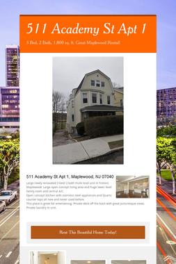 511 Academy St Apt 1