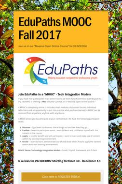 EduPaths MOOC Fall 2017